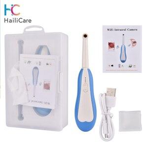 Image 1 - Беспроводная стоматологическая камера Wi Fi HD интраоральный эндоскоп со светодиодным освещением, мониторинг для стоматолога, оральный видео стоматологический инструмент в реальном времени