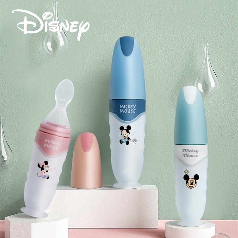 Disney Baby Löffel Flasche Feeder Dropper Silikon Löffel für Fütterung Medizin Kinder Utensilien Kinder Zubehör Neugeborenen