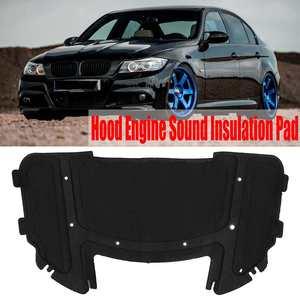 Car Sound Deadener Heat Insulation Deadening Mat Pads Hood Engine Sound Insulation Pad for BMW E90 E91 E92 E93 323i 325i