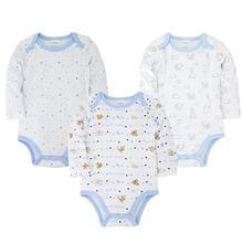 Одежда для новорожденных 3 шт/компл 100% хлопковый весенний