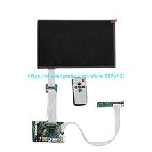 10,1 Ips для монитора Raspberry Pi 1280*800, тонкая Диагональ экрана, ЖК-дисплей, Плата удаленного управления, Hdmi 2AV vga для Raspberry