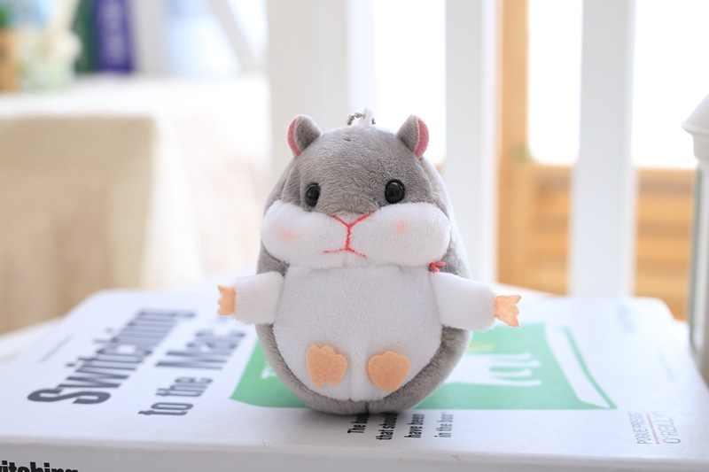 Япония милая мягкая девочка маленький брелок для ключей «хомяк» автомобиль Сумочка Подвеска Стиль Знаменитостей мягкая игрушка кукла товары Meng Super Q