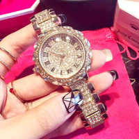 Women Watch Woman 2020 Luxury Brand Gold Clock Lady Wrist Watches Crystal Female Ladies Quartz Watch Fashion Women's Wristwatch