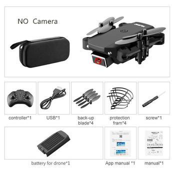 ZITY S66 FPV Mini Drone With Camera HD RC Foldable Drone 4K Professional Wifi Double Camera Drones Quadcopter RC Drone Mini Toys 17