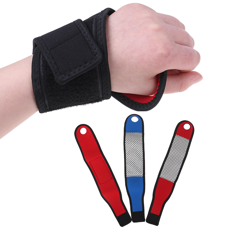 1Pcs Self-heating Magnet Wrist Support Brace Guard Protector Men Wristband Winter Keep Warm Band Sports Sales Tourmaline Product