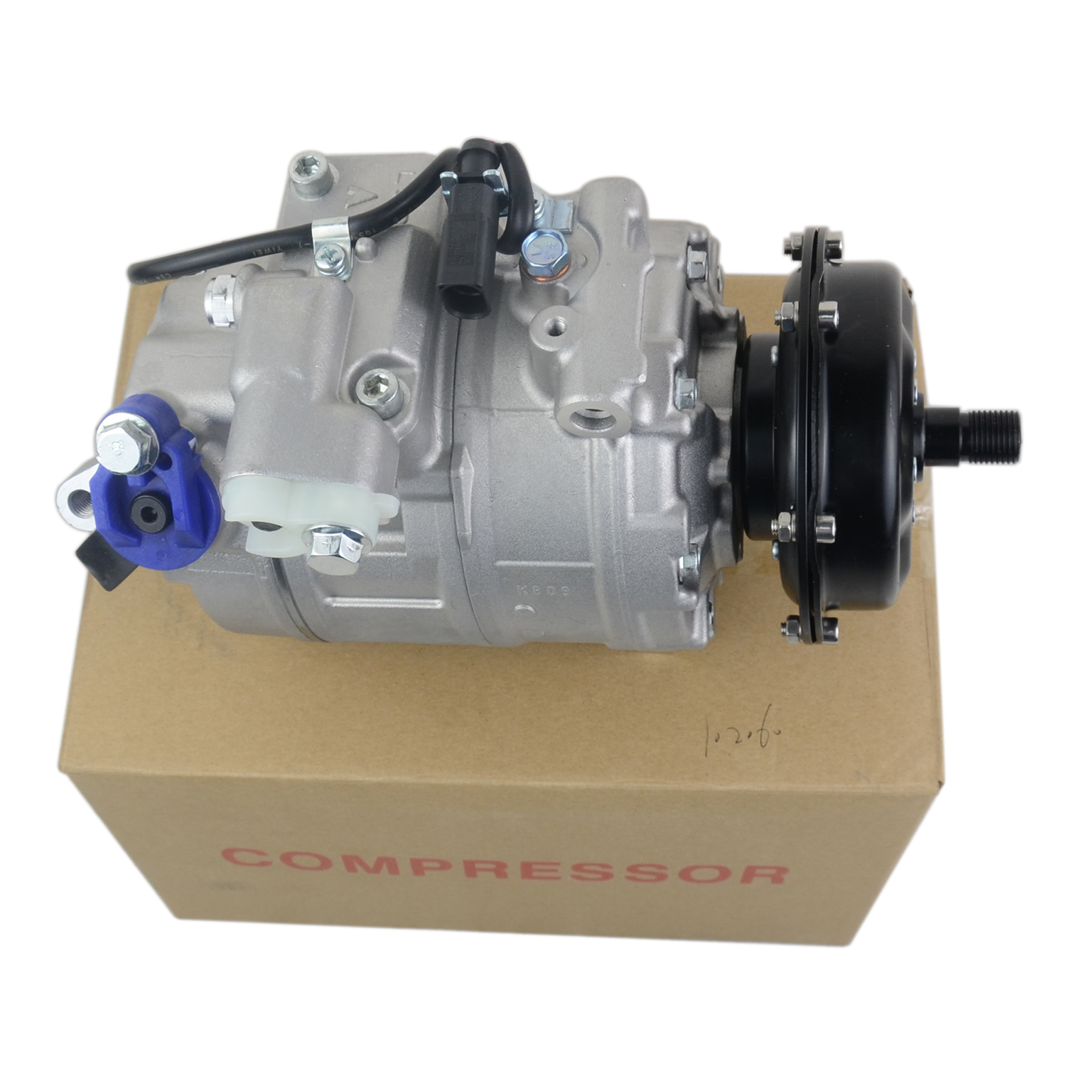 AP01 Air conditioning compressor For <font><b>VW</b></font> <font><b>Multivan</b></font> V Touareg Transporter V <font><b>T5</b></font> 2.5 TDI 3D0820805 3D0820805B 3D0820805E 3D0820805G image