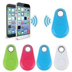 GPS Mini Smart Tag Tracker Wireless Bluetooth Anti-Lost Alarm for Wallet Bag Kids Key Finder Pet Dog Cat Locator Black Red White