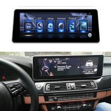 15.6 Android dokunmatik ekran multimedya oynatıcı Stereo ekran GPS navigasyon BMW serisi için 5 veya X1 2013 2016 f10/F11/F48