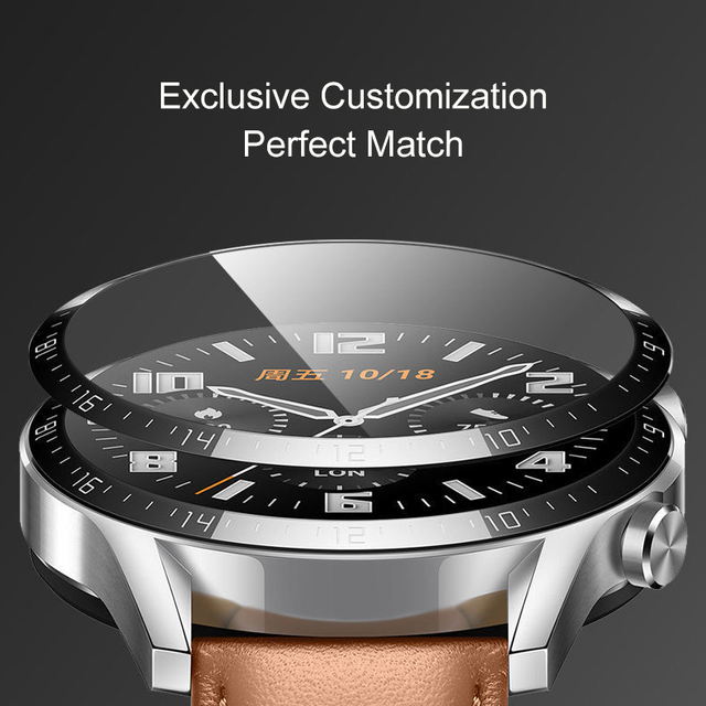Soft Fibre Glass Protective Film Cover For Huawei Watch GT 2 Honor Magic 2 46mm GT2e Smartwatch Screen Protector GT2 Pro Case 5