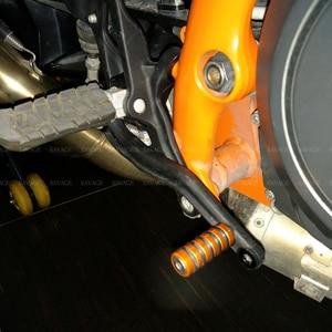 Image 5 - Shift Lever Toe Peg & Rear Brake Pedal Step For KTM 690 1290 1190 SUPER DUKE R RC8 Motorcycle Accessories Motorbike