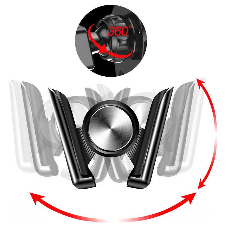 MEIDI Trọng Lực Điện Thoại Trong Bảng Điều Khiển Xe Điện Thoại Núi Không Từ Tính Di Động Điện Thoại Định Vị GPS Đứng Cho Iphone XS Max xiaomi