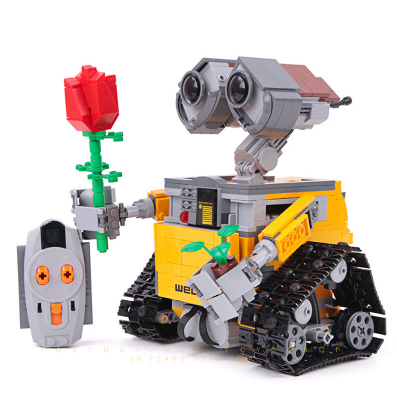 16003 <font><b>Legoinglys</b></font> Technic Creator <font><b>21303</b></font> Wall E Robot Rc Eve Building Blocks Action Figures Boy Toys image