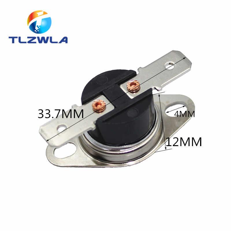 1 قطعة KSD301 10A 250V 40 ~ 135 درجة السيراميك عادة فتح/عادة مغلقة درجة الحرارة تحويل الحرارة 45 55 60 65 70 75 80 85