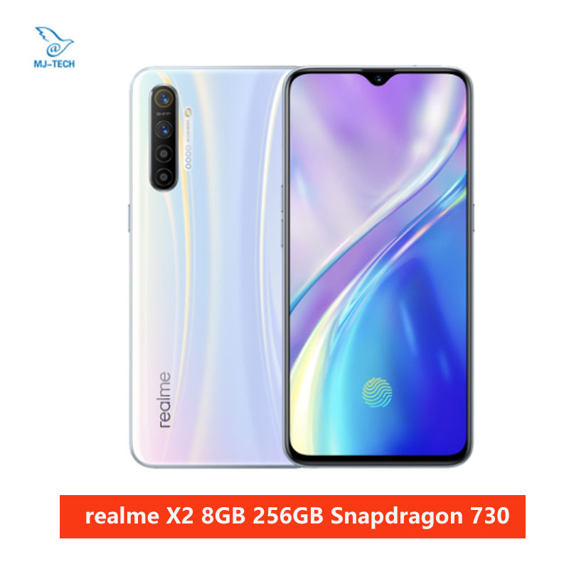 realme X2 8GB 256GB Snapdragon 730G 64MP Camera 6.4'' Full Screen NFC OPPO Cellphone VOOC 30W Fast Charger Moblie Phone Cellphones  - AliExpress