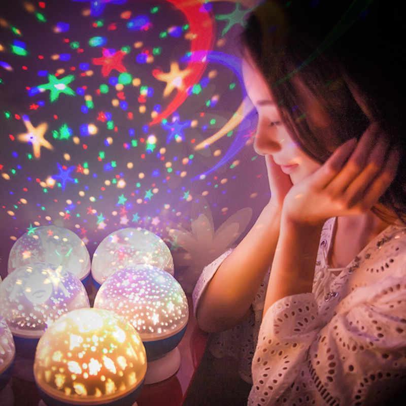 الجدة العارض كشاف ضوئي ليلة مضيئة اللعب رومانسية السماء المرصعة بالنجوم LED ضوء الليل الإبداعية عيد ميلاد لعب للأطفال