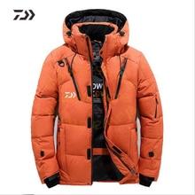 Daiwa куртка Мужская бархатная одежда для рыбалки утолщенная термальная рыболовная рубашка на молнии Daiwa зимняя одежда для рыбалки мужская хлопковая уличная одежда