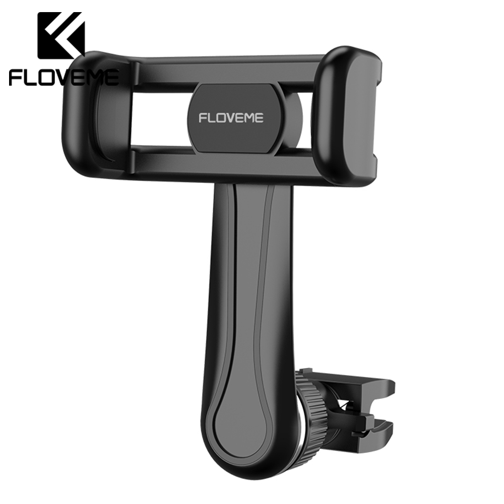 FLOVEME Car Phone Holder For IPhone XR X 360 Rotating Air Vent Mount GPS Holder Stand For Samsung Xiaomi Mobile Phone Stand Auto
