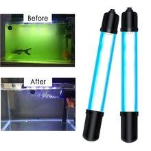 Аквариум для рыбного пруда ультрафиолетовая дезинфекционная лампа для Водорослей Аквариум ультрафиолетовая дезинфекционная лампа для водорослей