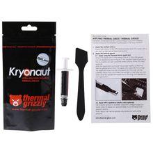 Термо Grizzly Kryonaut 1g для ЦП AMD Intel кулер для процессора вентилятор соединение охлаждения термопаста сумка-холодильник смазка