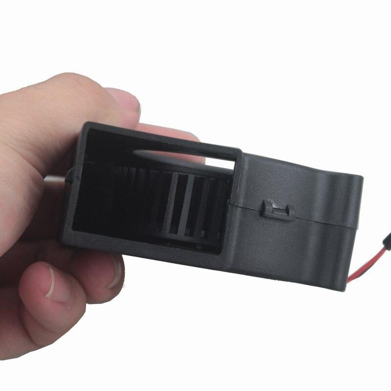 Купить с кэшбэком 2 pieces LOT DC 5V USB 75mm 75x30mm 7530 7cm 70mm Air Flow Cooling Blower Fan