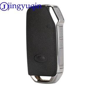 Image 4 - jingyuqin Remote Flip Folding Car Remote Key For Kia Sportage Ceed Sorento Cerato Forte Case Cover