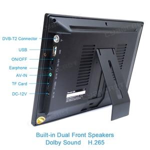Image 2 - LEADSTAR DVB T2 נייד טלוויזיה ATSC tdt 9 אינץ דיגיטלי ואנלוגי טלוויזיה קדמי רמקול מיני קטן רכב טלוויזיה תמיכה H.265 AC3