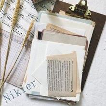 Упаковка из 56 листов винтажная книга на английском языке старый