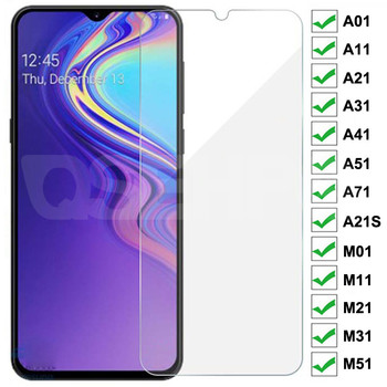 9H szkło hartowane dla Samsung Galaxy A01 A11 A21 A31 A41 A51 A71 A21S ochraniacz ekranu ze szkła M01 M11 M21 M31 M51 A10 A50 szkło tanie i dobre opinie QSEHPO CN (pochodzenie) Folia na przód Galaxy A50 Galaxy A30 Galaxy A11 Galaxy A21 Galaxy A21s Galaxy A31 Galaxy A41 Galaxy A51