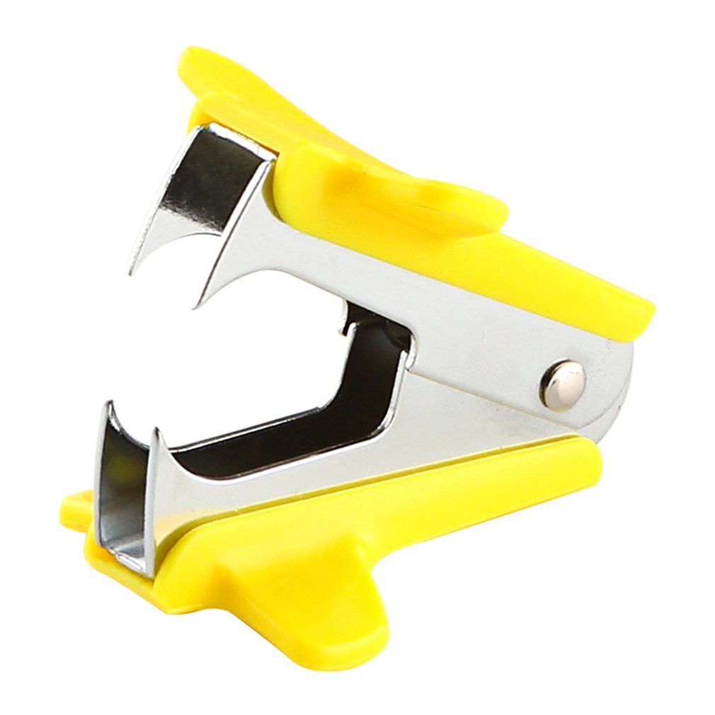 Tianse Staple Remover Mini Portable Standard Metal Staple Remover School Stationery Office Binding Supplies Stapler Supporting