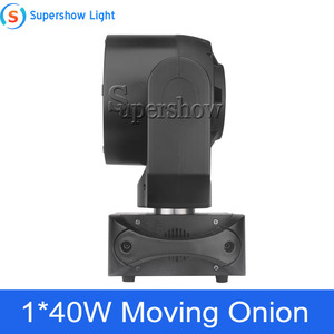 Image 3 - Stage Light Moving Head Lighting 1*40W RGBW 4in1 +76*0.2W SMD RGB Moving Onion for Disco Event Bar Party Decoration