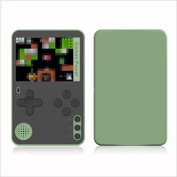 2.4 inches K10 Pocket Game Console 500 in 1 Mini Card Game Console 500 Games Support Five Languages Handheld Game Players 8