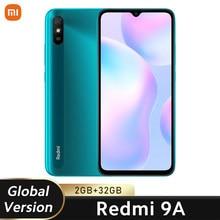 Xiaomi-Smartphone Redmi 9A versión global, teléfono móvil con 2GB y 32GB de ROM, MTK, Helio G25, ocho núcleos, 6,53 pulgadas, 5000mAh, cámara de 13MP