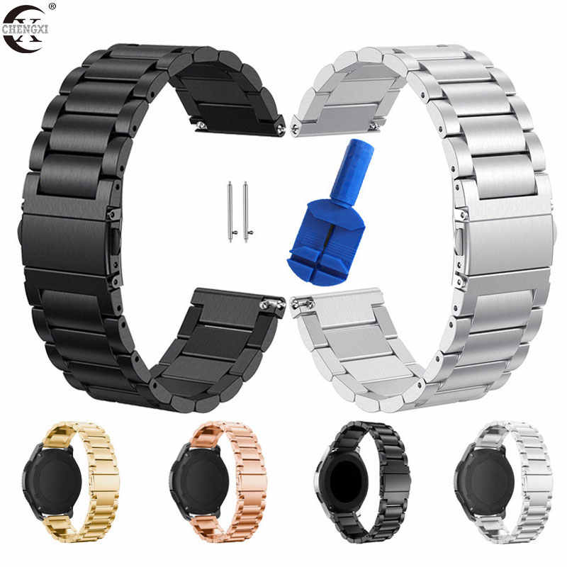 20Mm 22Mm Huami Amazfit Gtr Bip Strap Voor Samsung Gear S3 S2 Sport Classic Huawei Gt 2 Actieve gala Galaxy Horloge 42Mm 46 Band 40