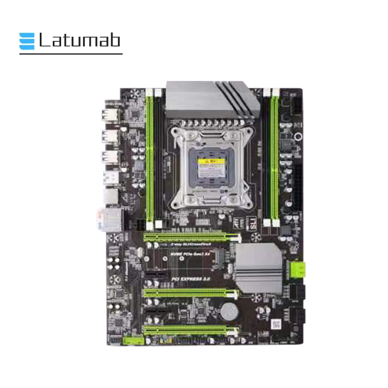 X79-T Ddr3 Pc Desktops Motherboard Lga 2011 Cpu Computer 4 Channel Gaming Support M.2 E5-2680V2 I7 Sata 3.0 Usb 3.0 For Intel B image