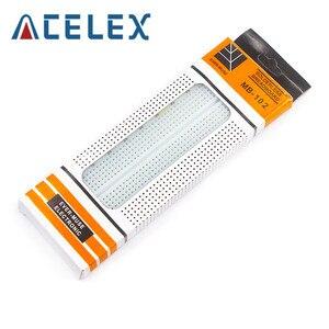 1pcs Breadboard 830 Point PCB Board MB-102 MB102 Test Develop DIY kit nodemcu raspberri pi 2 lcd High Frequency(China)