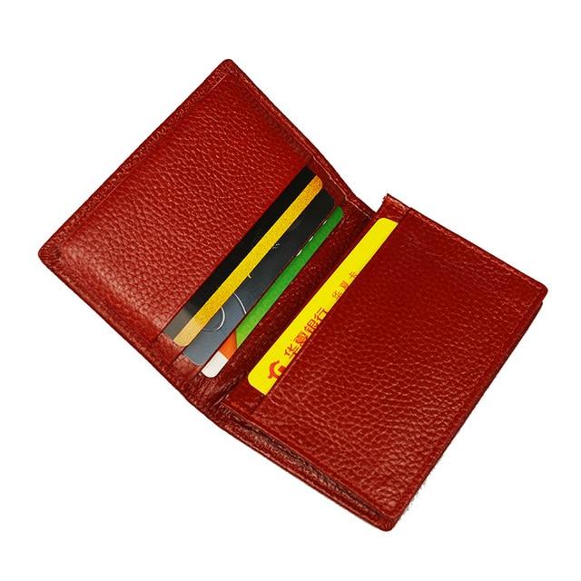 100% Genuine Leather Business Name Card Case Large Capacity Cross Crocodile Saffiano Bank Card ID Holder Custom name logo 3