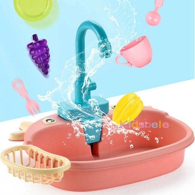 מטבח לילדים עם מים זורמים 2