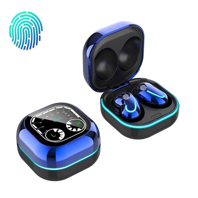 Wireless Headphones Bluetooth 5.1 TWS Headphones with Microphone Bluetooth Earphone Stereo Headset for IOS Samsung Buds Live 6