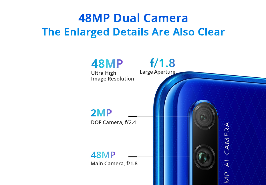 Honor 9X Kirin 810 7nm Octa core Smartphone 48MP Dual Camera 6.59 Full Screen Pop Up Front Camera Google Play (6)