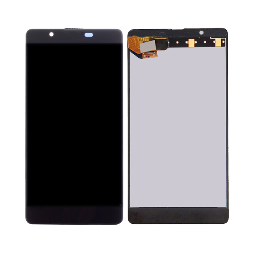 For <font><b>Microsoft</b></font> Nokia <font><b>Lumia</b></font> <font><b>540</b></font> RM-1141 LCD Display Touch <font><b>Screen</b></font> Digitizer <font><b>Replacement</b></font> with Frame image