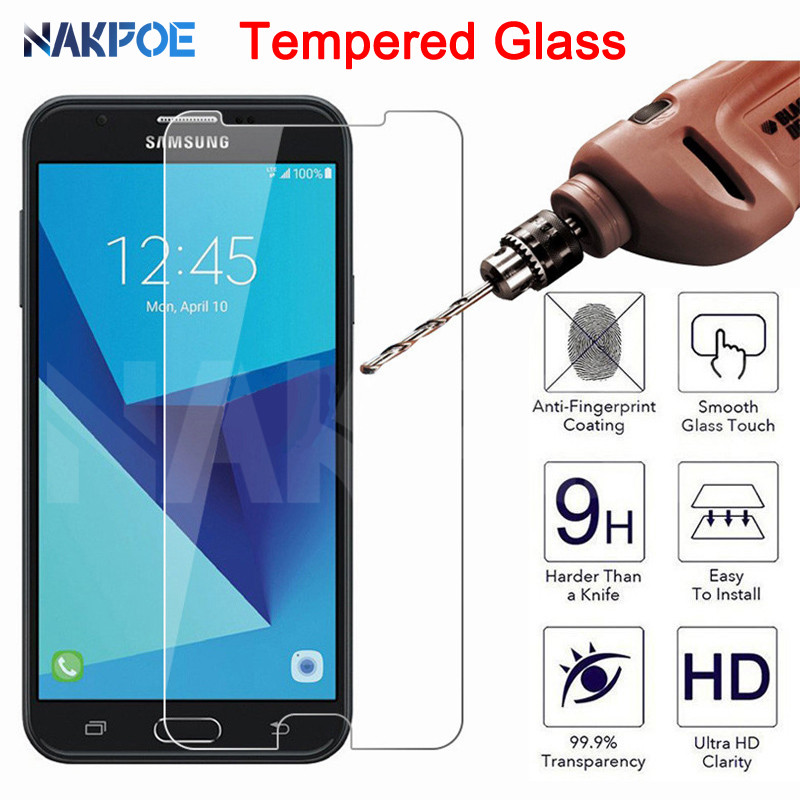 9H Tempered Glass For Samsung Galaxy J3 J5 J7 2015 2016 2017 Screen Protector Protective Glass On Samsung J2 J4 J6 J8 2018 Film