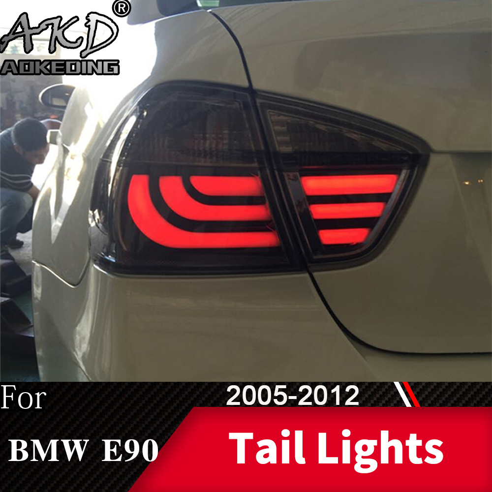 Tail Lamp For Car <font><b>BMW</b></font> <font><b>E90</b></font> 318i 320i 323i 325i 330 <font><b>LED</b></font> Tail <font><b>Lights</b></font> <font><b>Fog</b></font> <font><b>Lights</b></font> Daytime Running <font><b>Lights</b></font> DRL Cars Accessories image