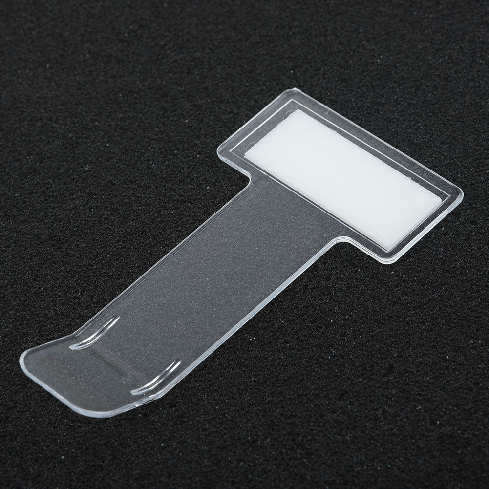 Plastic Car Vehicle Parking Ticket Permit Holder Clip for Car 5 Pcs Car Windscreen Parking Ticket Holder Clip Van and Caravan Windscreen