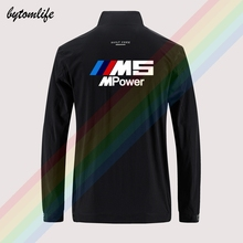 Sport-Jacket Motorsport-M-Power Casual Windbreaker Back-Printing Men's M5 Zipper Bmw