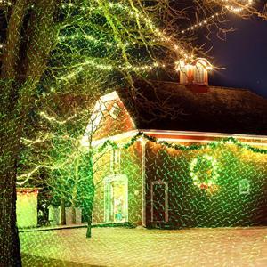 Image 2 - Im freien Wasserdichte Laser Projektor Weihnachten LED Bühne Licht Garten Rasen Licht Stern Projektor Duschen Home Party Dekoration