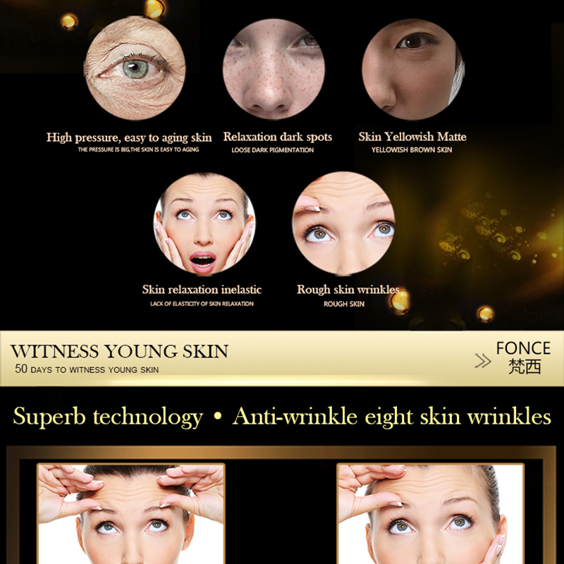 Fonce Korea Hexapeptide Youth Freeze age Serum Anti Wrinkle Essence Firming Lifting Smoothing Fine Lines Serum