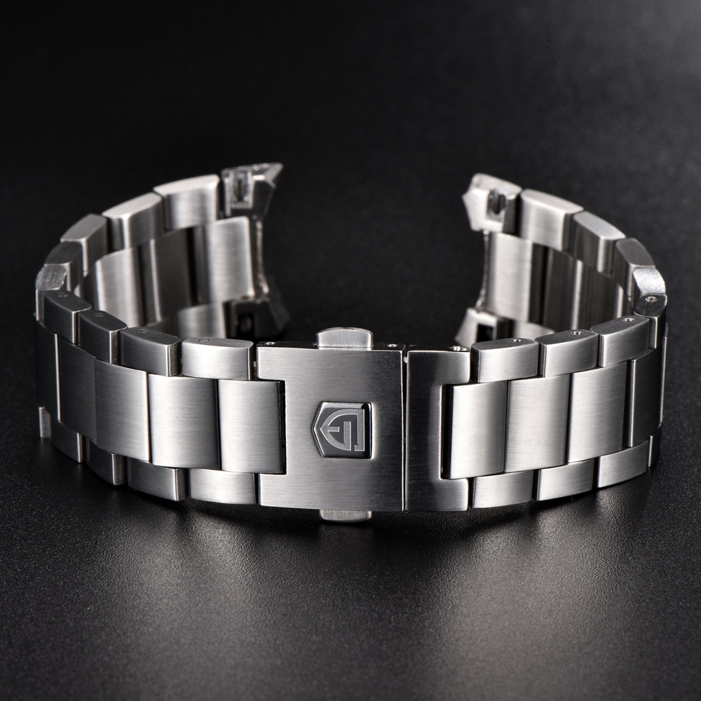 Metal Stainless Steel Band For PAGANI DESIGN Watch Band  Bracelet Strap Watch Bands For Watch Stainless Steel Strap