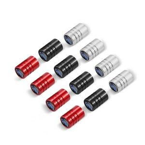 Колпачки клапанов для автомобильных шин, алюминиевые колпачки для воздушных клапанов для Ford Focus Mondeo Kuga Fiesta Escort Explorer Edge Escape Fusion Ranger, 4 шт. Стержни и колпачки клапана      АлиЭкспресс