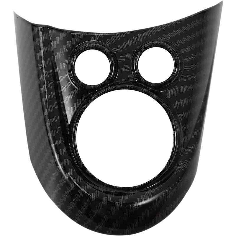 3Pcs Car Steering Wheel Covers for <font><b>MINI</b></font> Cooper F54 F55 <font><b>F56</b></font> F57 F60 <font><b>Carbon</b></font> Fiber Style Auto Interior Accessories Sticker Cover image