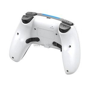 Image 4 - Nieuwe PS4 Draadloze Controller Bluetooth Dualshock Joystick Mando Gamepads Voor Playstation 4 Slanke Pro Video Games